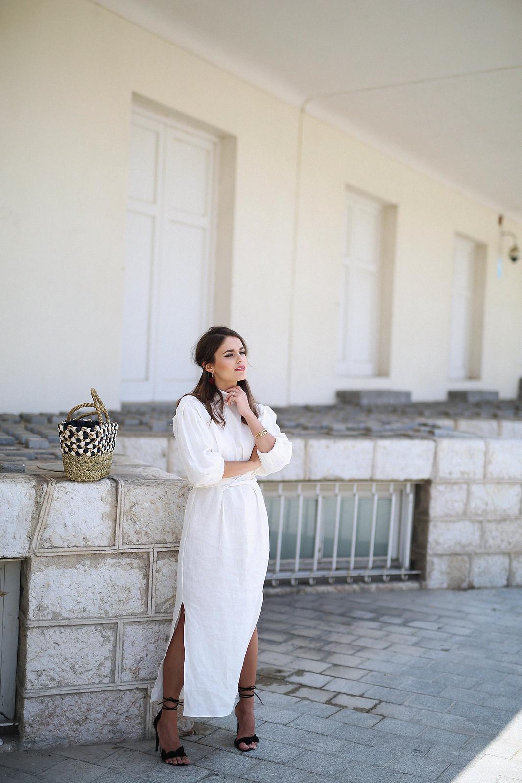 jessie chanes seams for a desire zara vestido lino capazo rafia-9
