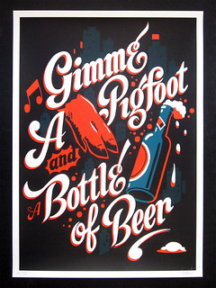 Gimme a Pigfoot and a Bottle of Beer | by Great Graphics Inc.