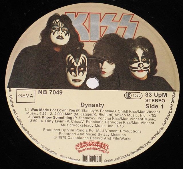 Kiss Dynasty 160 grams vinyl