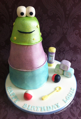Birthday Cake - Ribbit Stacker | by Crumbs & Corkscrews