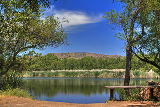 Bench and Lake | by charles25001
