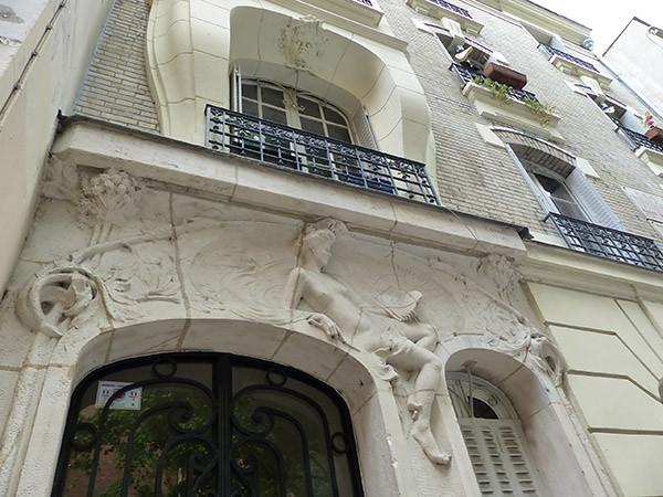 façade de la rue antoine