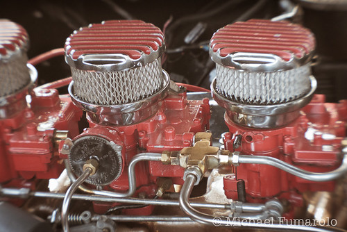 1957 Oldsmobile Engine | by Michael Fumarolo