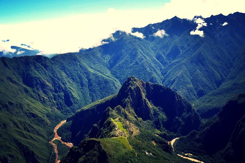 Machu Picchu in Peru /