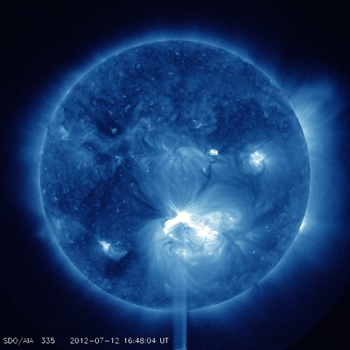 Big Sunspot 1520 Releases X1.4 Class Flare | by NASA Goddard Photo and Video
