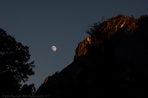 The sun goes down, the moon comes out | by Images by John 'K'