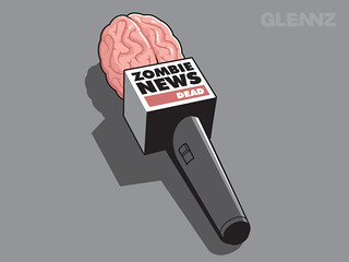Zombie News | by Glennz Tees