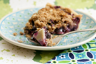 Blueberry Crumble Pie | by krissys-creations