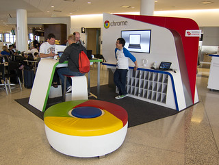 Google Chromebook Kiosk at SFO | by Scott Beale