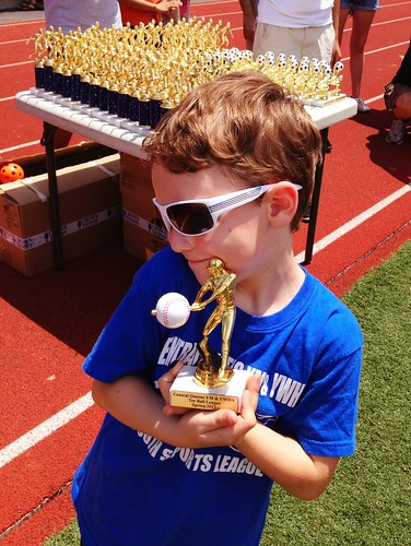 Akiva's award for T-Ball | by barrrry joseph