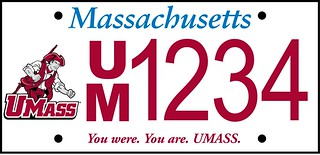 UMass License Plate | by stevegarfield