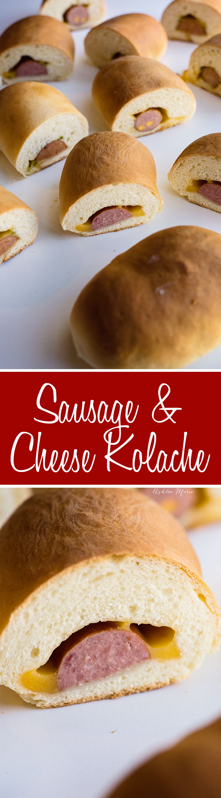 a family favorite - these sausage and cheese kolache are easy to make and taste amazing - a sweet dough wrapped around your favorite mean and cheese, full recipe with video tutorial