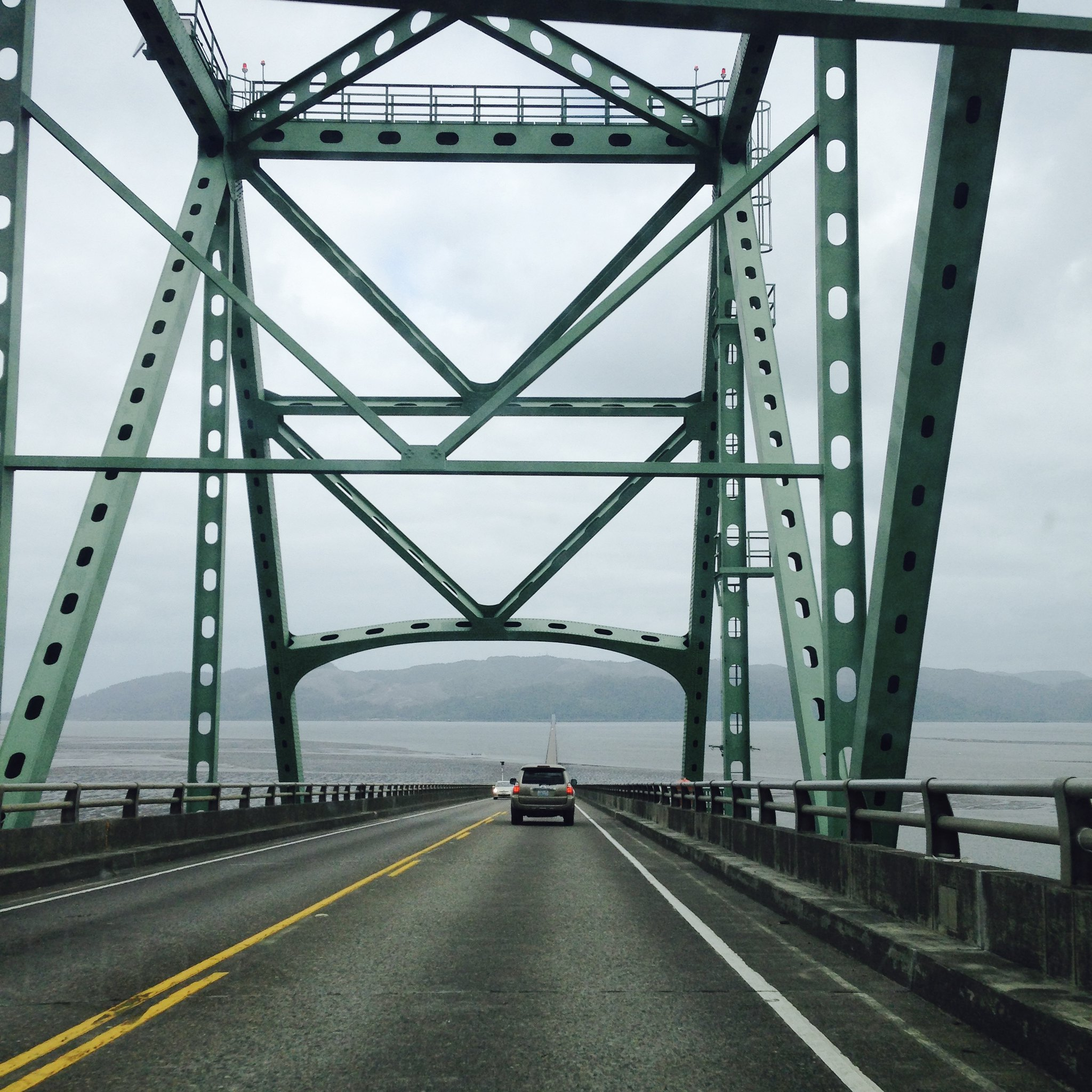 Crossing into Washington State