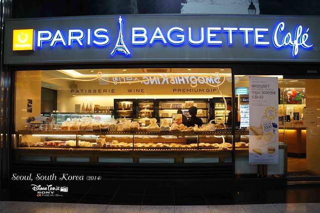 South Korea 2014 - Paris Baguette Cafe