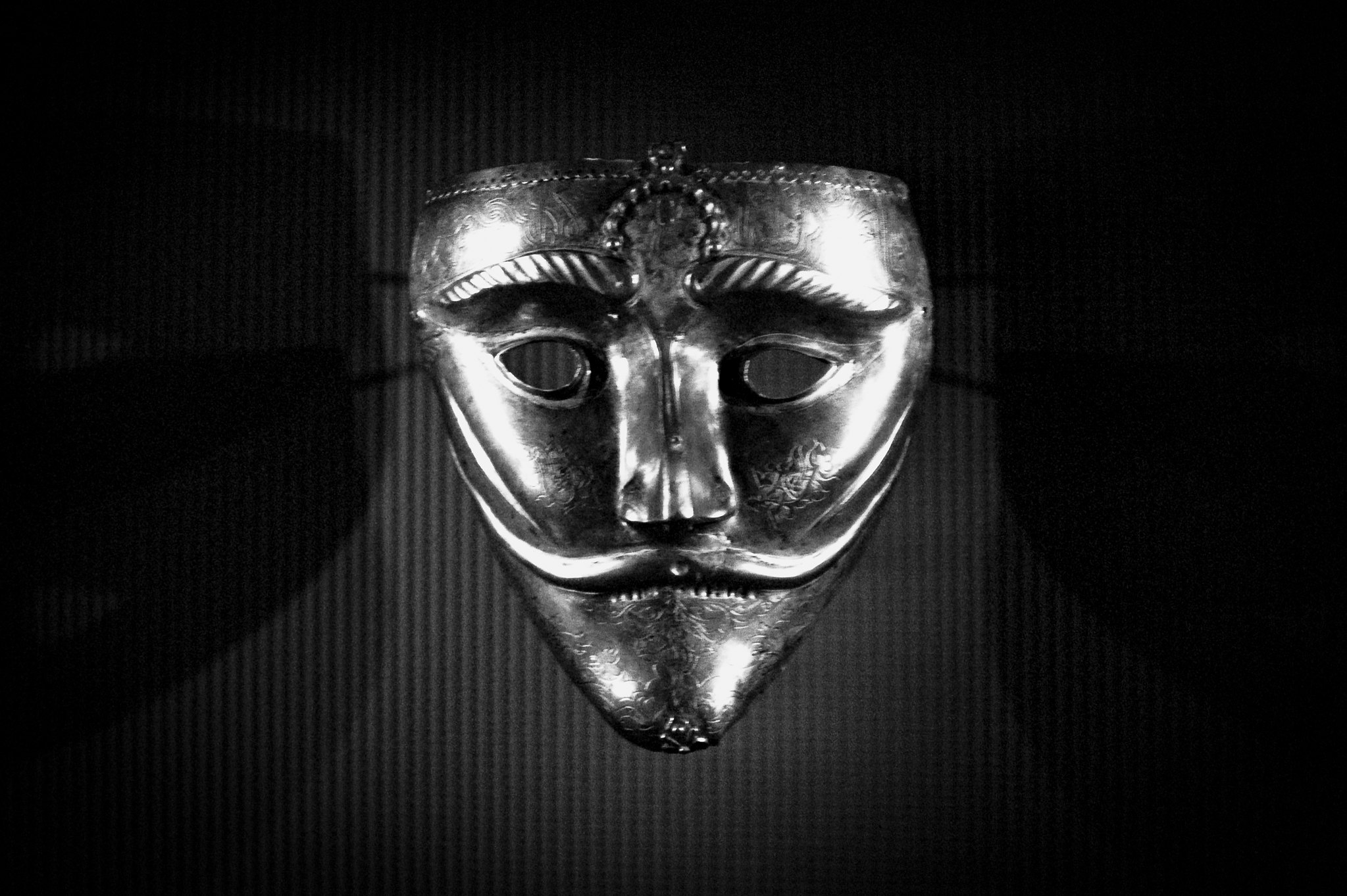 War Mask, Museum of Islamic Art