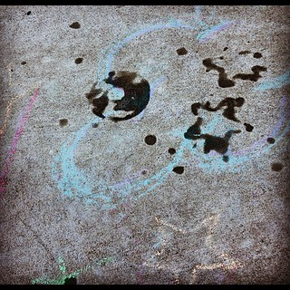 Unintentional earth drawing in this morning's bubble spills | by ericskiff