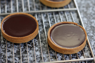 chocolate tartlets | by David Lebovitz