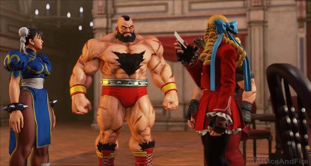 Street Fighter 5 režim Story