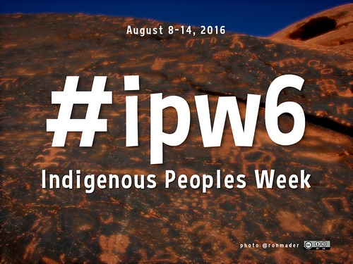 Indigenous Peoples Week, August 8-14 #ipw6