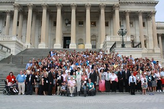 "Congressman Sessions with National Down Syndrome Congress ""Hike the Hill"" Day Participants 