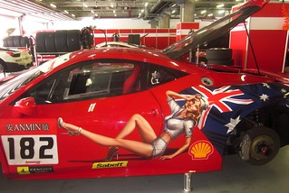 AUSSIE RULES ! NICE HOT GIRL ON 458 CHALLENGE | by livingingermanyagain