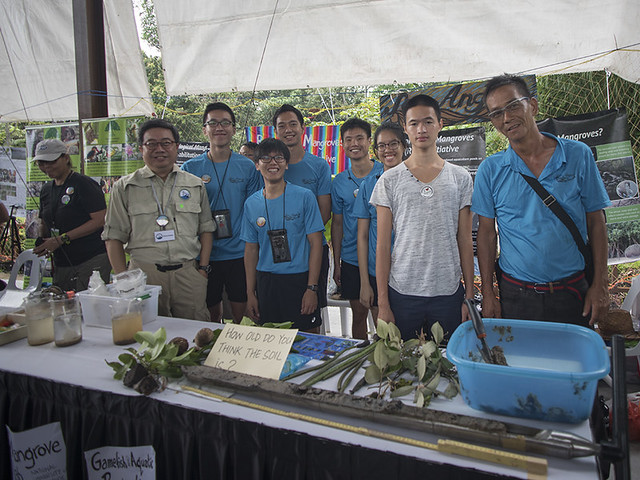 Learn about the Restore Ubin Mangroves (R.U.M.) Initiative at Pesta Ubin 2016