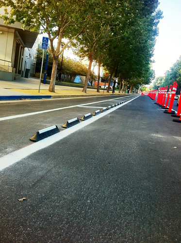 4th St Cycle track | by Richard Masoner / Cyclelicious