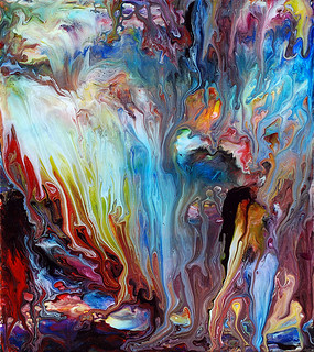 Abstract Fluid Painting 60 | by markchadwickart