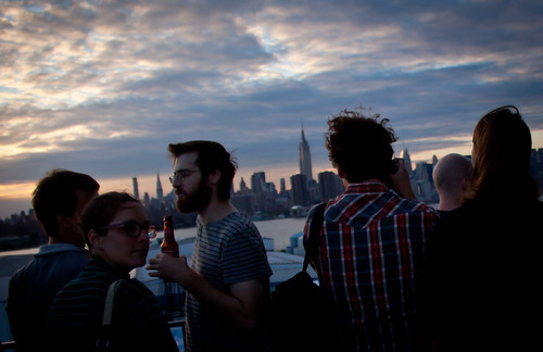 Drinking at The Ides - Wythe Hotel Rooftop, Williamsburg Brooklyn | by ChrisGoldNY