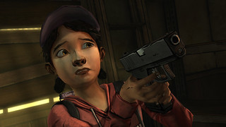 The Walking Dead Episode 3 - gun | by PlayStation.Blog