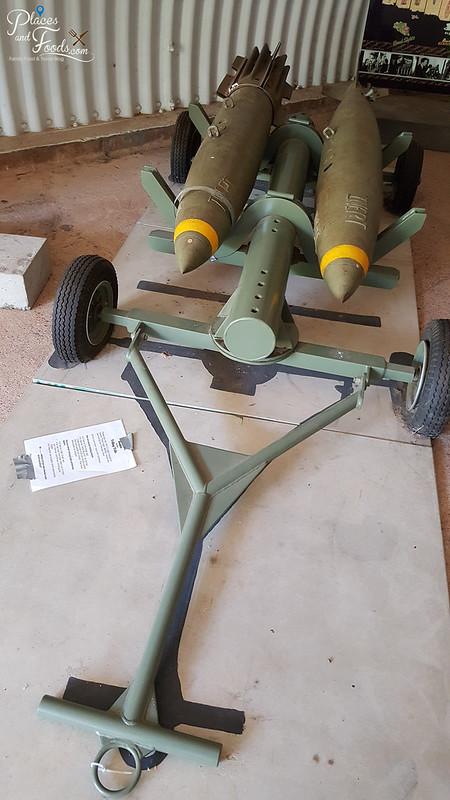 darwin WWII bunker two bombs