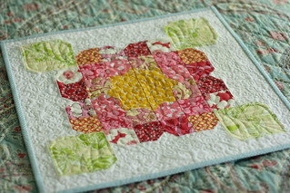 a bloom mini quilt | by twinfibers