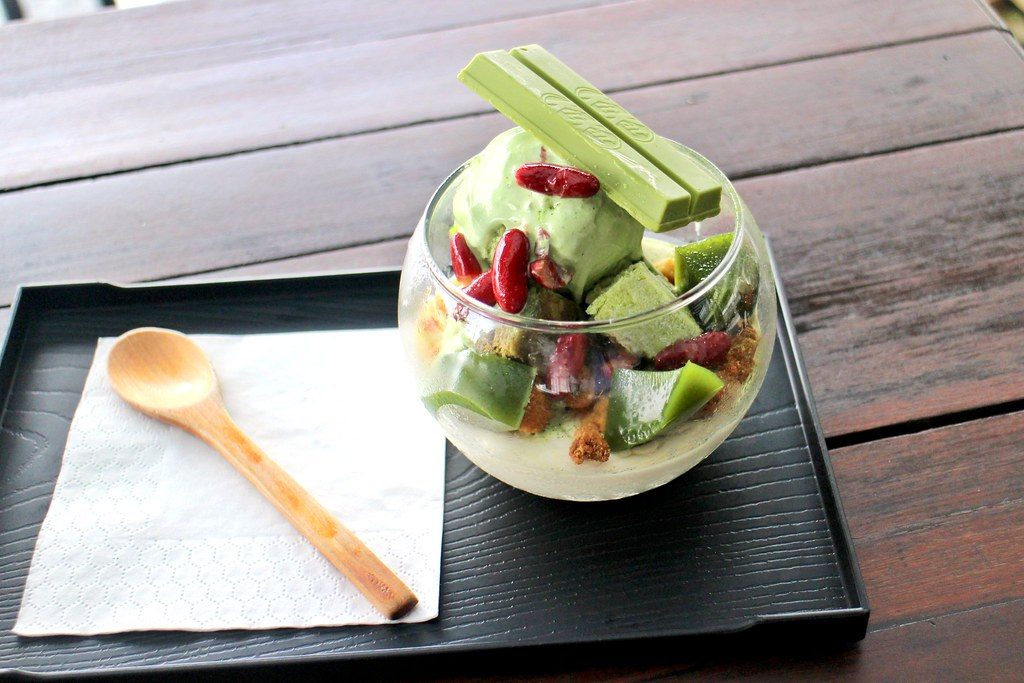 Matcha Johor Bahru: Green Tea Parfrait
