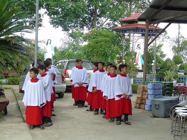 thánh lễ tạ ơn của TH Vinh Tâm