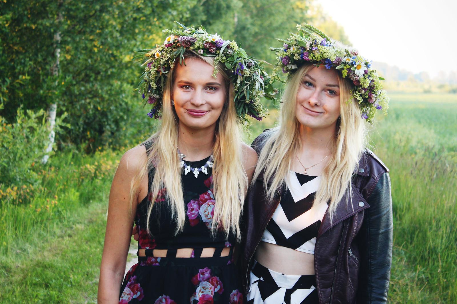 Midsummer celebration in Latvia