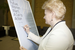 Women Heads of State and Government at Rio+20 Sign Call to Action | by UN Women Gallery