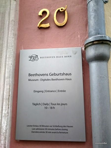Beethovens Geburtshaus