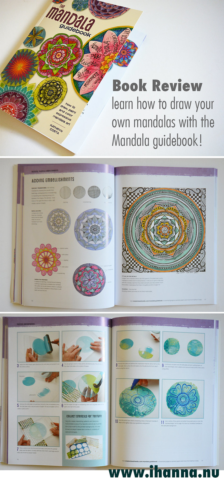 Book review of The Mandala Guidebook, more photos and the review at www.ihanna.nu by @ihanna #mandala