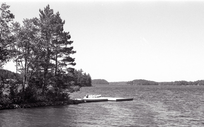 The Dock at Lake Muskoka_