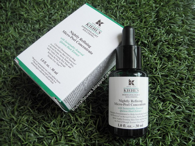 Kiehls Nightly Refining Micro Peel Concentrate Quinoa Husk