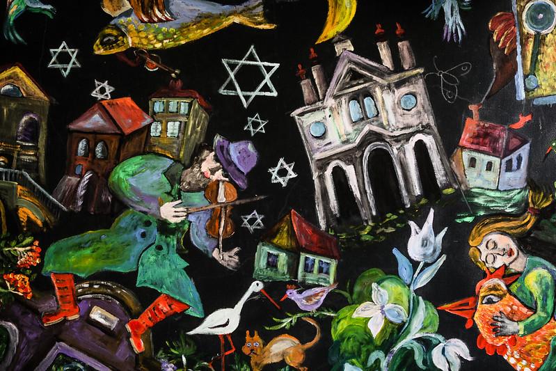 > Poster del Festival della Cultura Ebraica di Cracovia - Fot. Mariusz Cieszewski