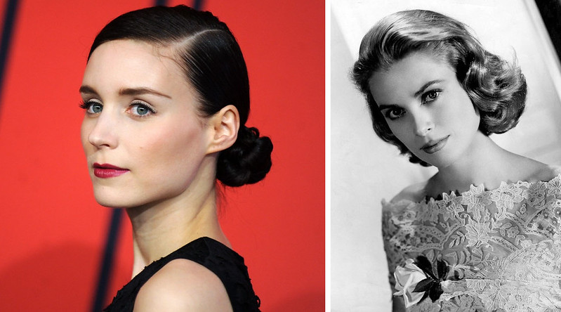 Rooney Mara, Grace Kelly (photos: Wiki Commons)