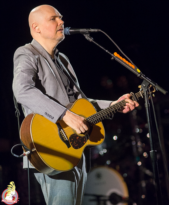 Billy Corgan of Smashing Pumpkins and Liz Phair in Detroit