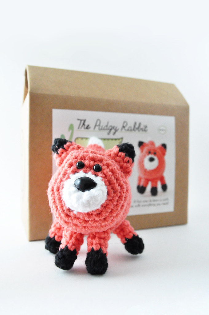 fox crochet kit