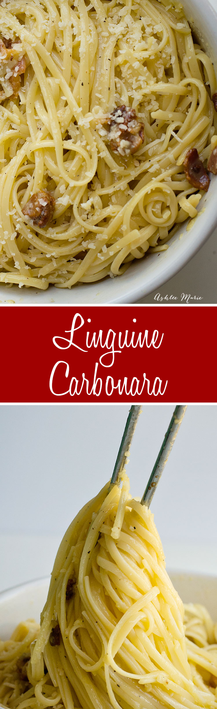 A quick and easy pasta dinner this carbonara is 5 ingredients and takes 10 mins to make - easy and delicious