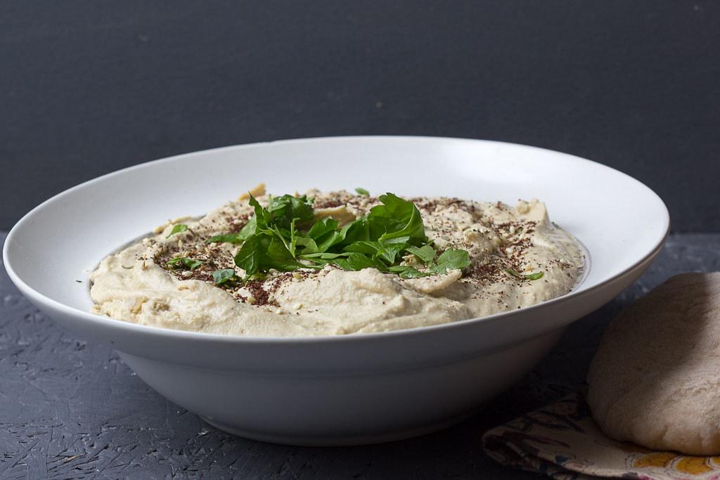 Hummus selbstgemacht via lunchforone