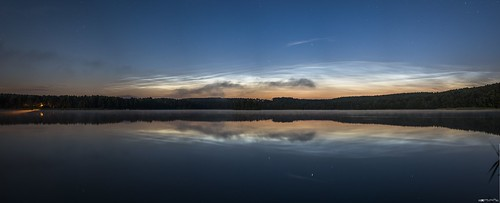 Noctilucent Clouds in the mirror