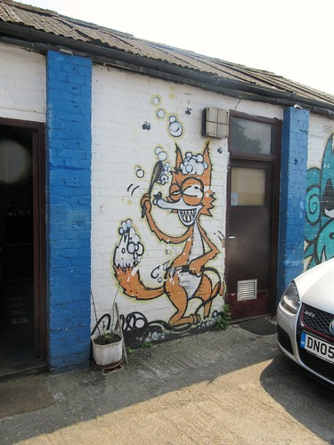 Kentish Town Car Wash Fox