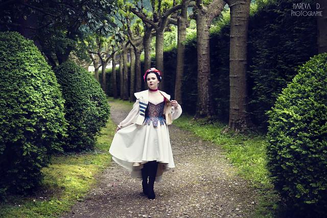 Robe de mariée alternative Milady de winter