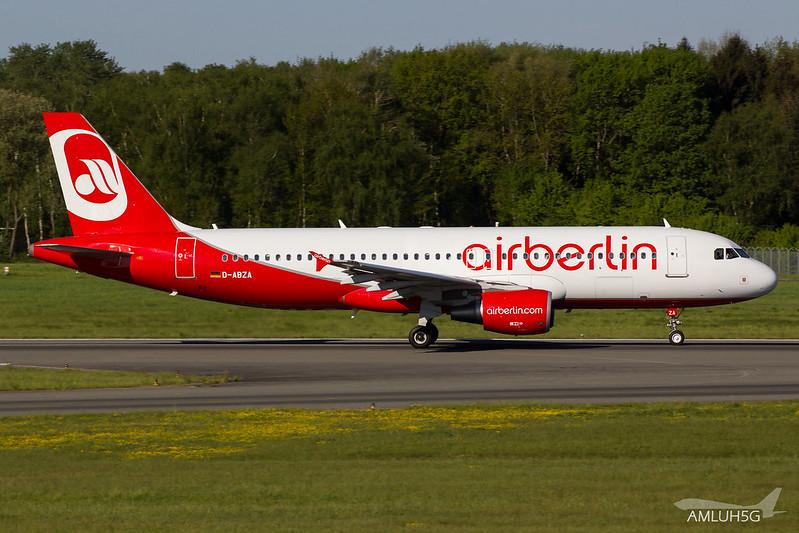 Air Berlin - A320 - D-ABZA (1)